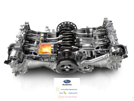 Động cơ boxer trên Subaru