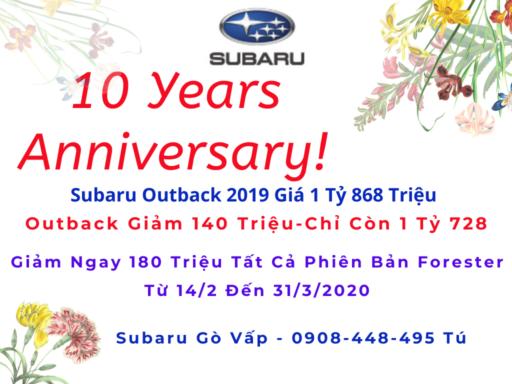 Giá xe Subaru Forester 2020